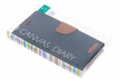 Samsung Galaxy J6 hoesje - Mercury Goospery Canvas Diary