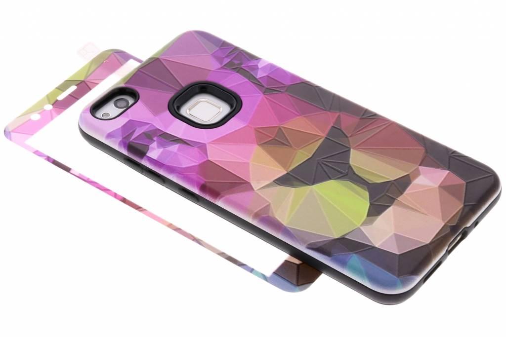 360° Gekleurde tijger design hardcase voor de Huawei P10 Lite