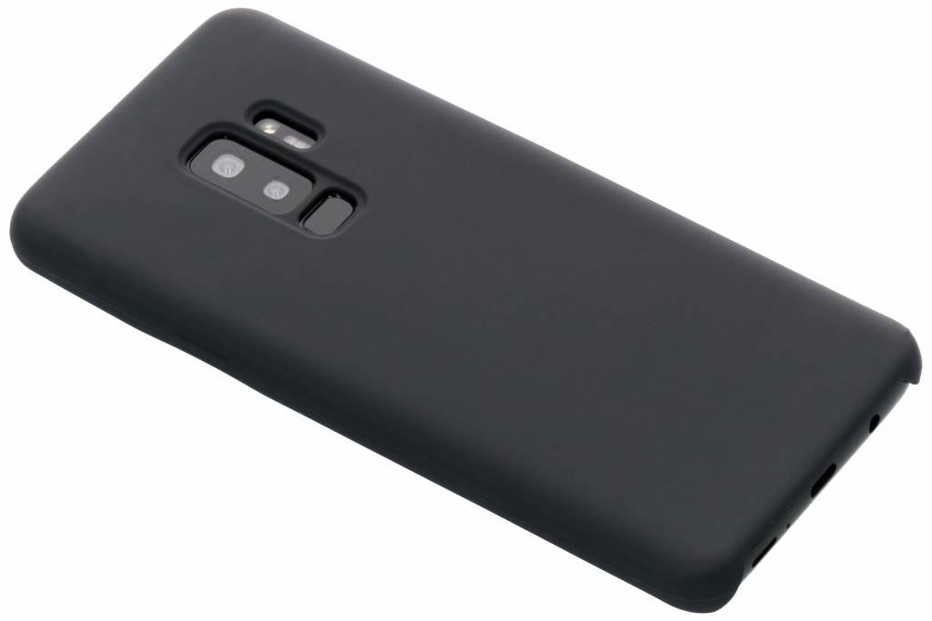 Grijze soft touch siliconen case voor de Samsung Galaxy S9 Plus
