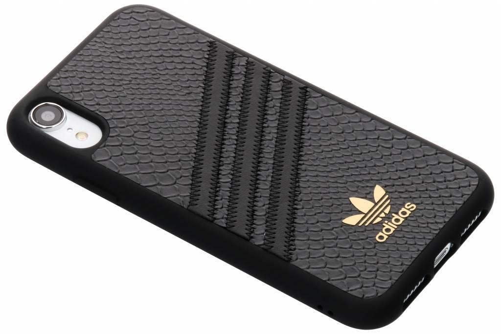 adidas Originals Zwarte Moulded Snake Case voor de iPhone Xr