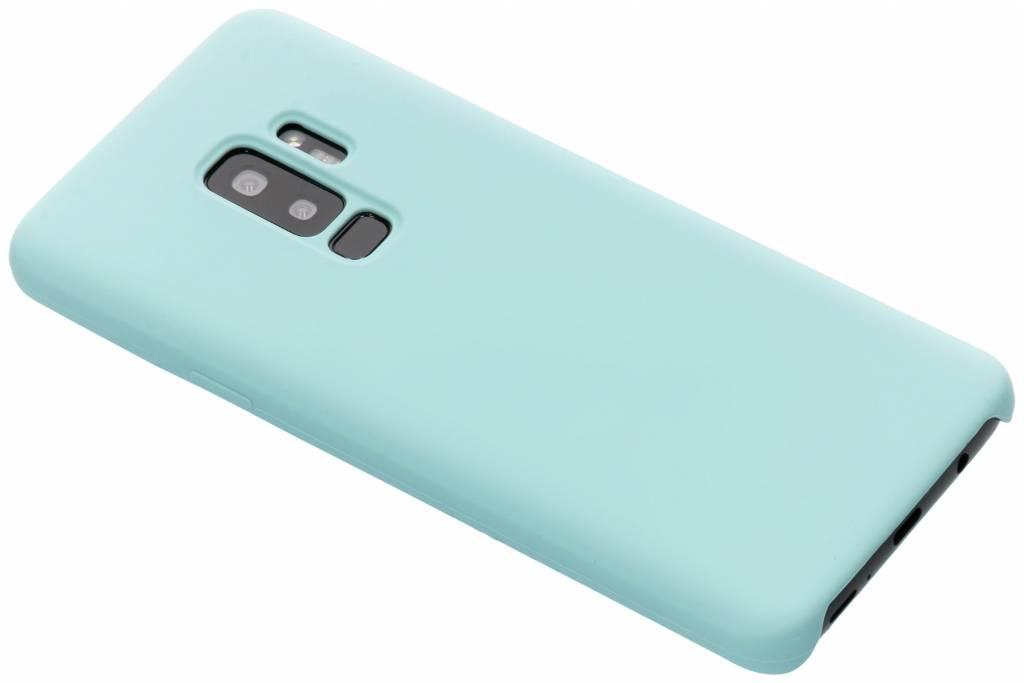 Mintgroene soft touch siliconen case voor de Samsung Galaxy S9 Plus