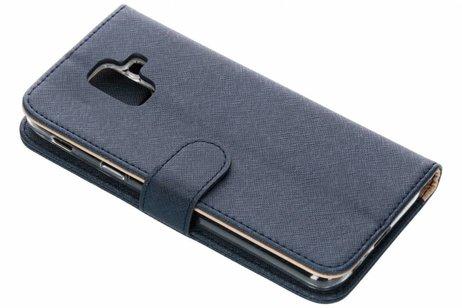 Samsung Galaxy A6 (2018) hoesje - Luxe Booktype met rits