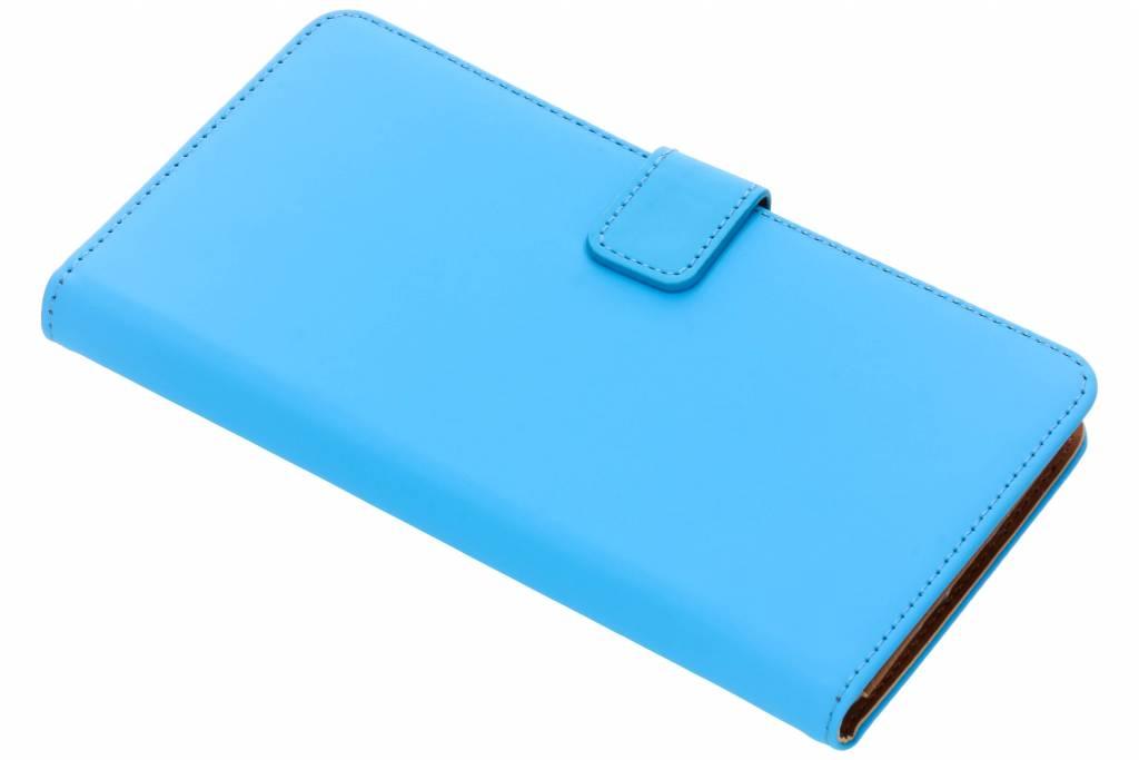 Selencia Luxe Softcase Booktype voor Sony Xperia XZ2 Premium - Blauw