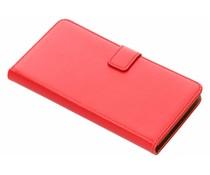 Selencia Rood Luxe TPU Book Case Sony Xperia XZ2 Premium