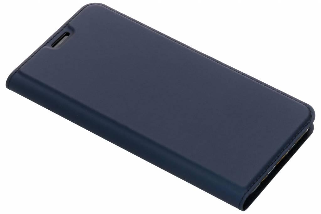 Dux Ducis Slim Softcase Booktype voor Huawei Mate 20 Lite - Donkerblauw