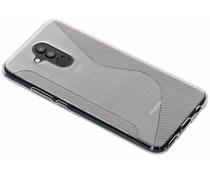 Transparant S-line TPU hoesje Huawei Mate 20 Lite