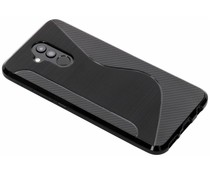 Zwart S-line TPU hoesje Huawei Mate 20 Lite
