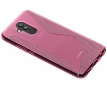 Roze S-line TPU hoesje Huawei Mate 20 Lite