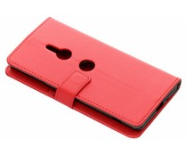 Rood TPU Bookcase Sony Xperia XZ3