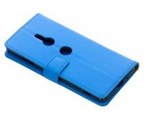 Blauw TPU Bookcase Sony Xperia XZ3