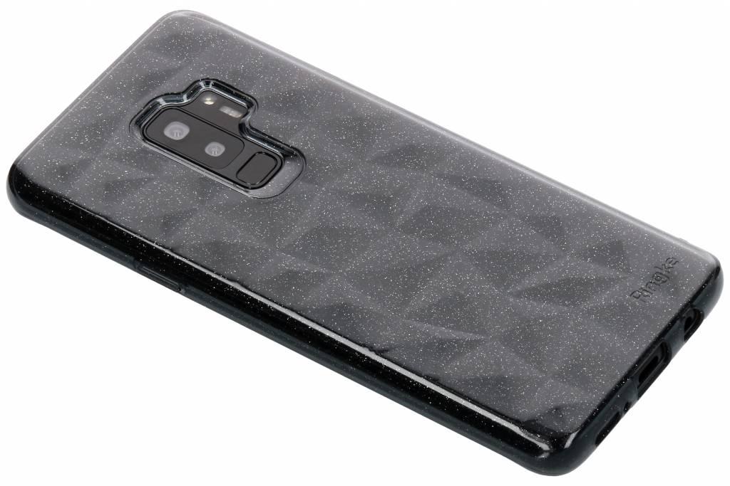 Transparante Glitter Air Prism Case voor de Samsung Galaxy S9 Plus