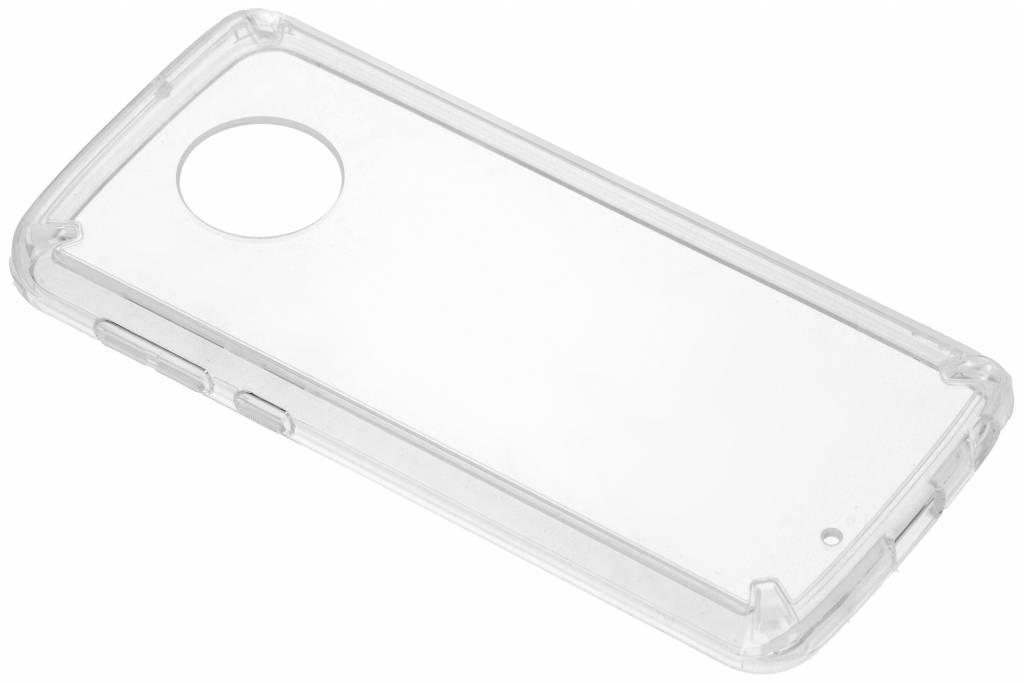 Transparante Fusion Case voor de Motorola Moto G6