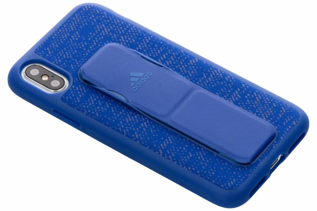 adidas Sports Blauwe Grip Case voor de iPhone Xs / X