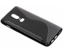 Zwart S-line TPU hoesje OnePlus 6T