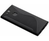 Zwart S-line TPU hoesje Sony Xperia XA2 Plus