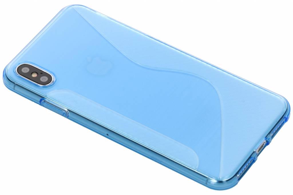 Blauw S-line TPU hoesje voor de iPhone Xs Max