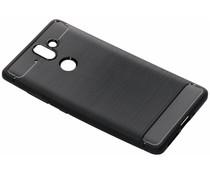 Zwart brushed TPU case Nokia 8 Sirocco