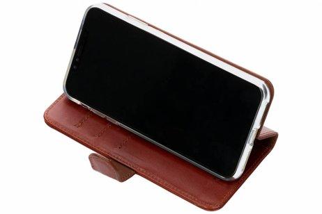 Valenta Classic Luxe Booktype voor iPhone Xs Max - Bruin