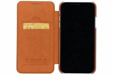 iPhone Xr hoesje - Nillkin Qin Leather Slim