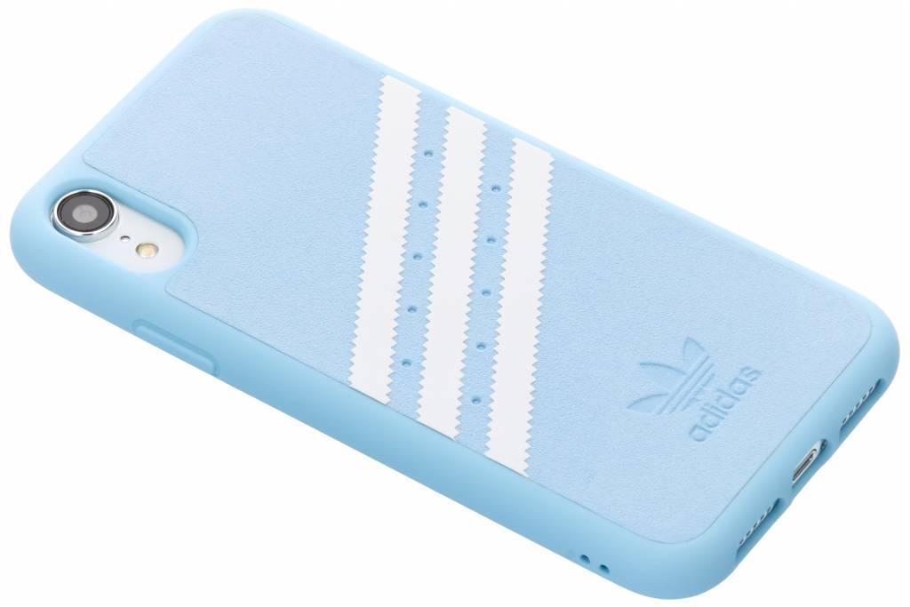 adidas Originals Blauwe OR Moulded Suède Case voor de iPhone Xr