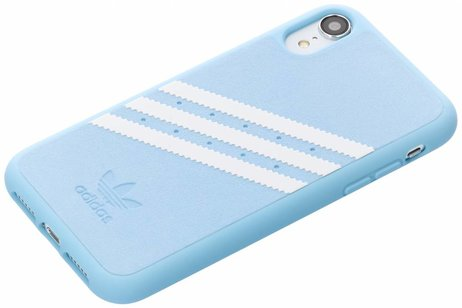 iPhone Xr hoesje - adidas Originals Suède Backcover