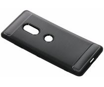 Zwart brushed TPU case Sony Xperia XZ3