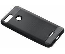 Zwart Brushed TPU case Xiaomi Redmi 6