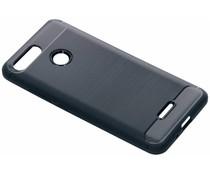 Donkerblauw Brushed TPU case Xiaomi Redmi 6