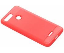 Rood Brushed TPU case Xiaomi Redmi 6