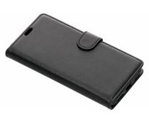 Zwart litchi booktype hoes Xiaomi Pocophone F1