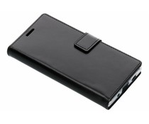 Valenta Zwart Booklet Leather Sony Xperia XA2