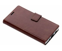 Valenta Bruin Booklet Leather Sony Xperia XA2