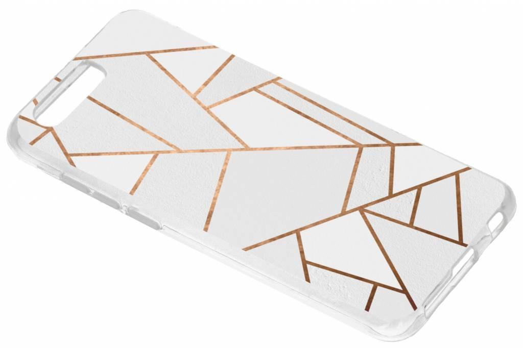 Wit Grafisch design TPU hoesje voor de Honor 9