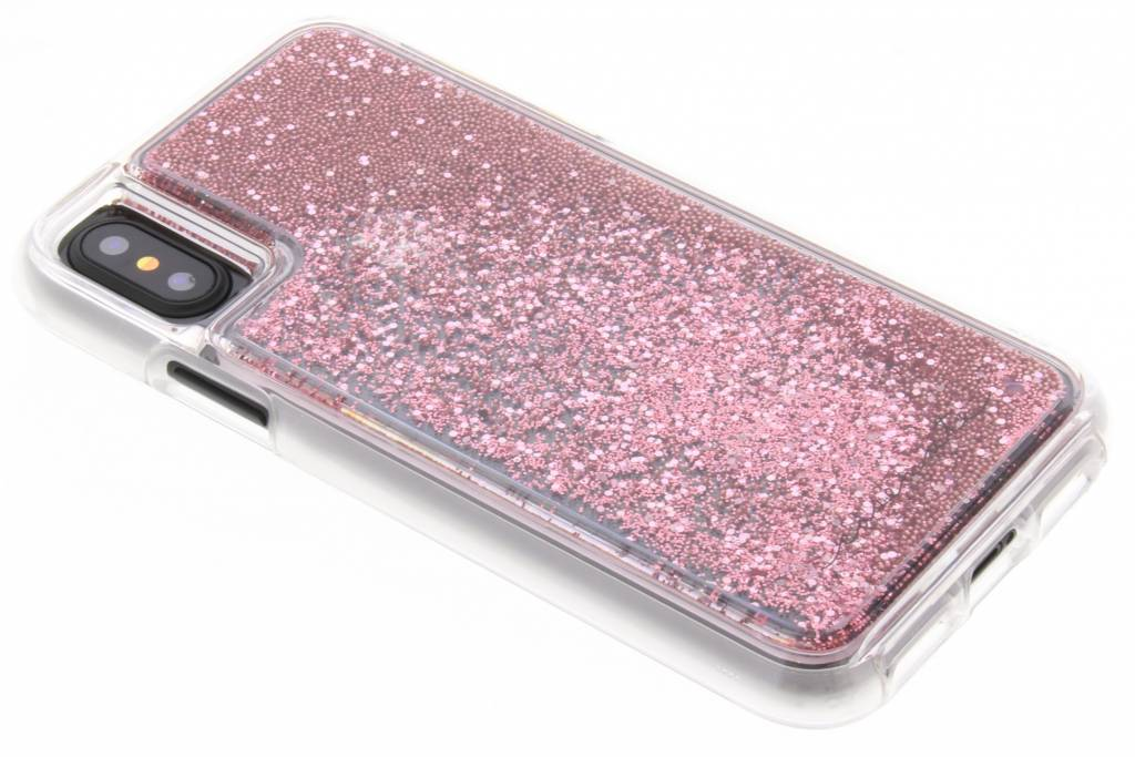 Case-Mate Naked Tough Waterfall Backcover voor iPhone X / Xs - Roze