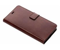 Valenta Bruin Booklet Leather Sony Xperia XZ2