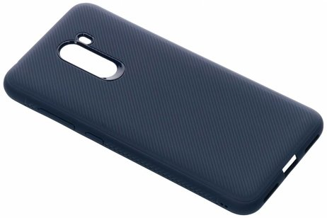 Xiaomi Pocophone F1 hoesje - Rugged Softcase Backcover voor