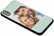 Ontwerp uw eigen iPhone Xs Max gel hoesje - Zwart