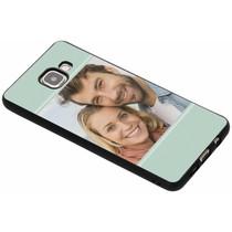 Ontwerp uw eigen Samsung Galaxy A5 (2016) gel hoesje - Zwart