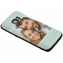 Ontwerp je eigen Samsung Galaxy S7 Edge gel hoesje - Zwart