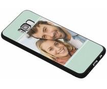 Ontwerp uw eigen Samsung Galaxy S8 Plus gel hoesje - Zwart