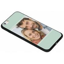Ontwerp uw eigen iPhone 6(s) Plus gel hoesje - Zwart
