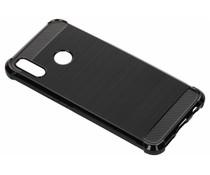 Zwart xtreme siliconen hoesje Huawei P Smart Plus