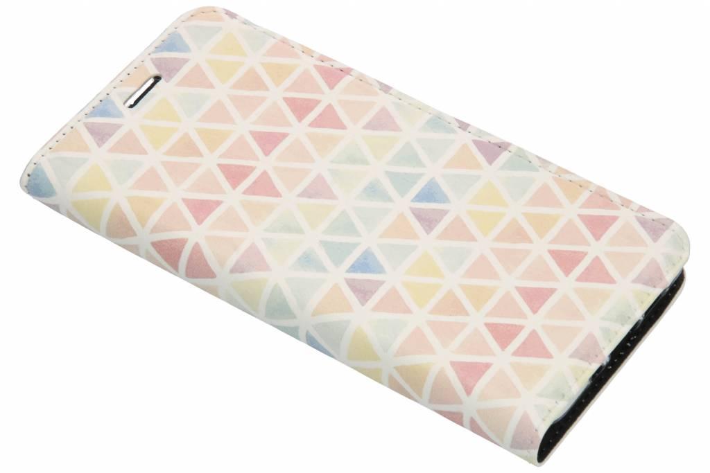 Kleuren Design TPU Bookcase voor de Nokia 3.1