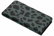 Design Softcase Booktype voor Nokia 5.1 - Panter Groen