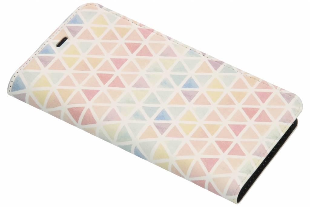 Kleuren Design TPU Bookcase voor de Nokia 5.1