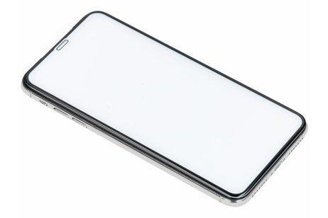 Selencia Gehard Glas Premium Screenprotector voor iPhone Xs Max - Zwart
