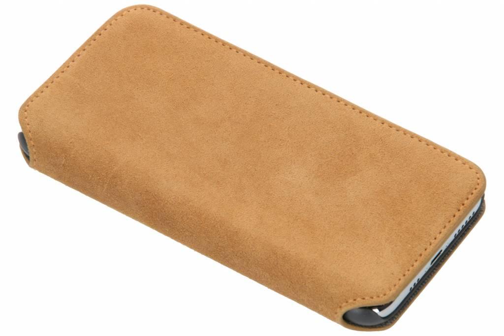 Krusell Broby Slim Wallet Booktype voor iPhone X / Xs - Bruin