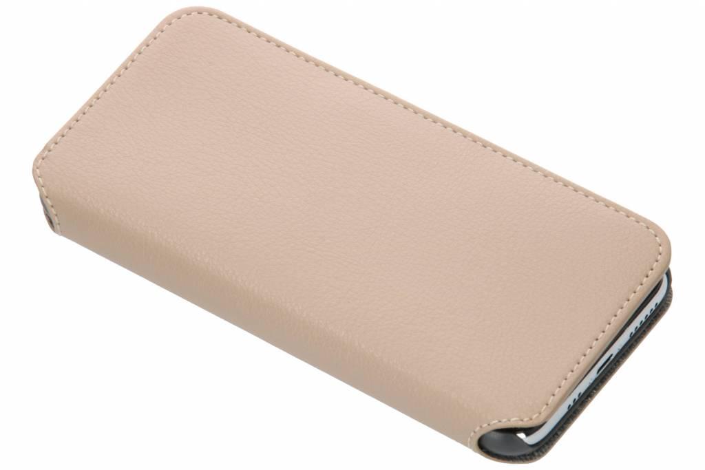Krusell Pixbo Slim Wallet Booktype voor iPhone X / Xs - Beige