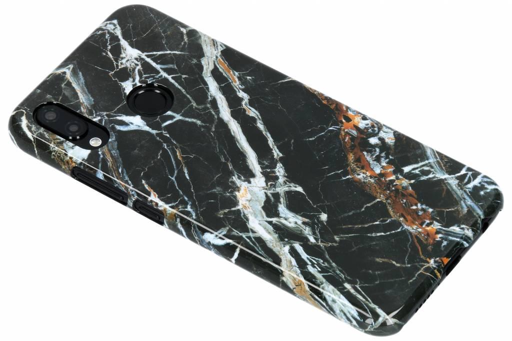 Selencia Black Marble Passion Hard Case voor de Huawei P20 Lite