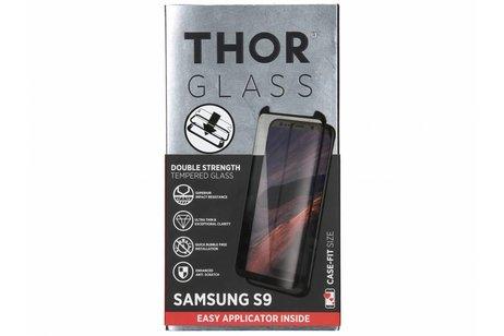 THOR Case-Fit Screenprotector + Easy Apply Frame voor Samsung Galaxy S9 - Zwart